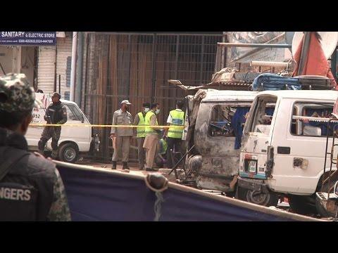 Five killed in suicide bomb blast in Pakistan