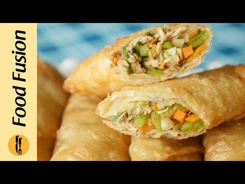 Chicken Spring Rolls Recipe by Food Fusion