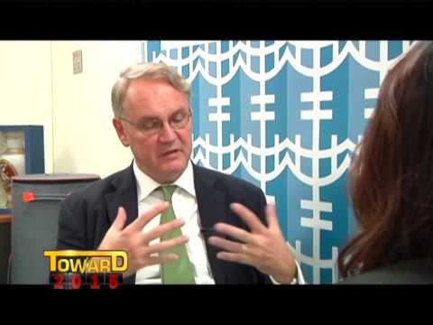 UN Women Deputy Executive Director John Hendra interviews with Thailand's Nation TV (Part1)