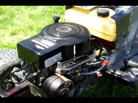 Riding Lawn Mower Fuel System Repair Flooding