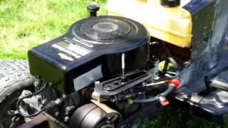 Riding Lawn mower - Fuel system repair (Flooding)