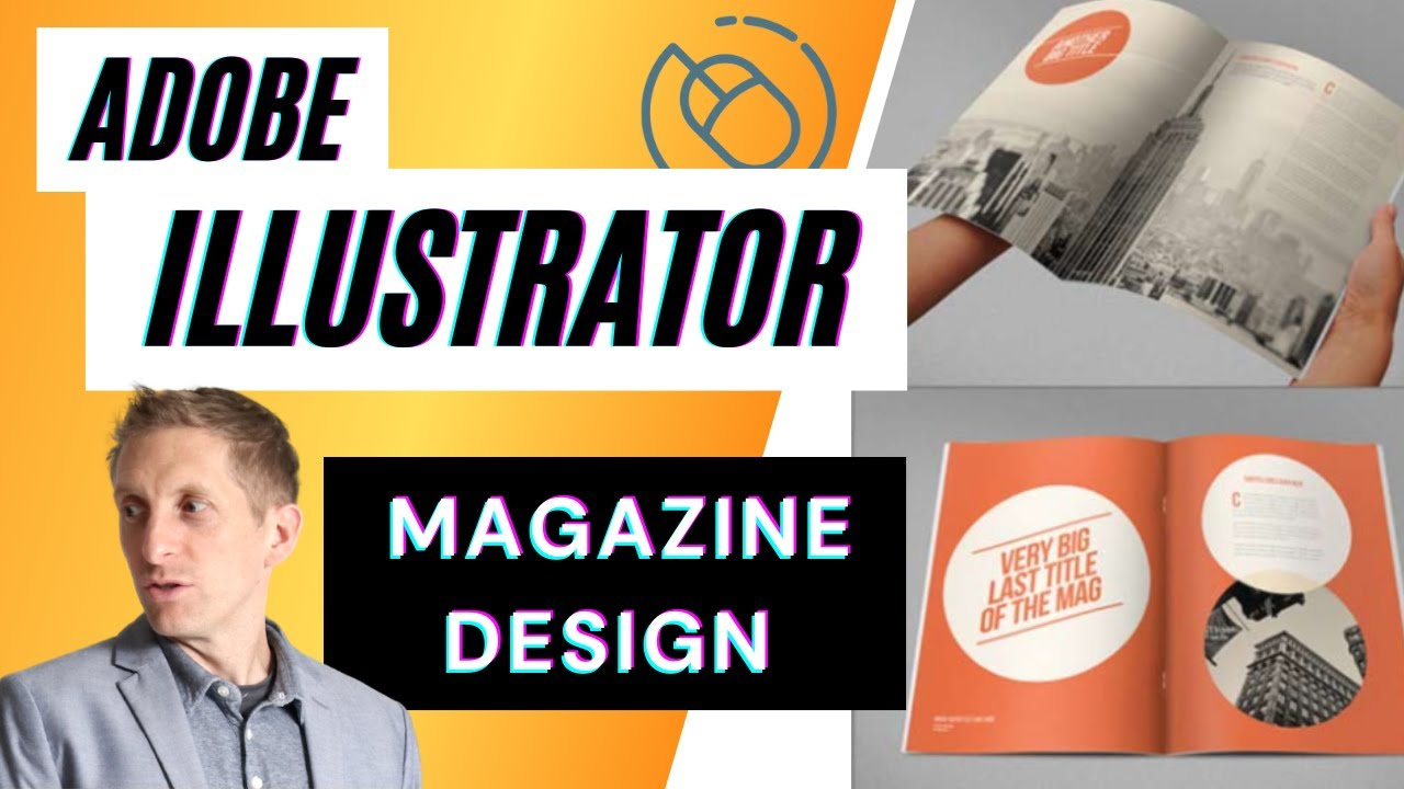 magazine article design layout setup tutorial in adobe illustrator youtube