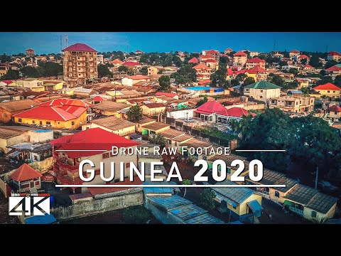 【4K】Drone RAW Footage | This is GUINEA 2020 | Capital City Conakry | Tanene | UltraHD Stock Video