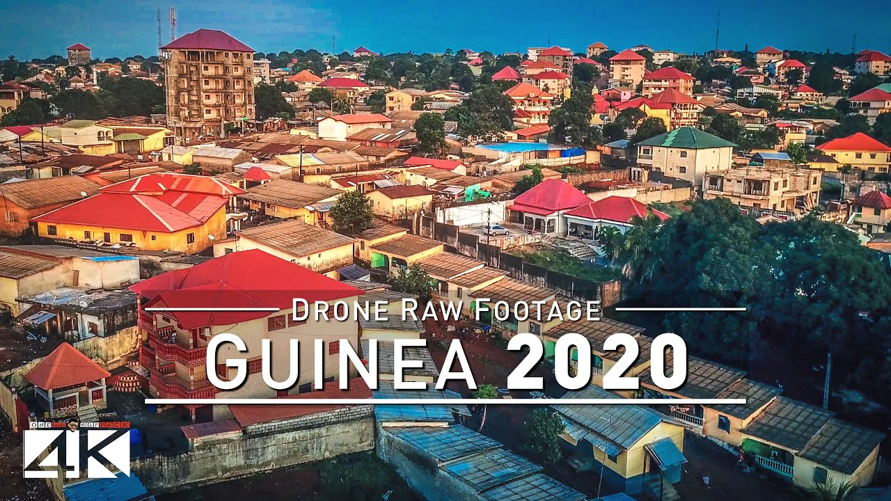 Download 【4K】Drone RAW Footage | This is GUINEA 2020 | Capital City Conakry | Tanene | UltraHD Stock Video