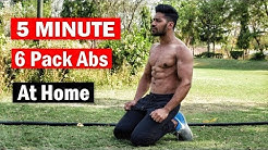 Home Abs Workout (no gym) | 5 Minutes Six Pack Abs Workout - Easy 6 Pack