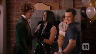 Paige, Jack, Mark & Paige and Mark kiss scene ep 7777