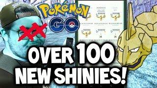 100+ NEW SHINY POKÉMON ADDED TO POKÉMON GO!!! (NEW POKÉMON GO SHINY SHOWCASE!)