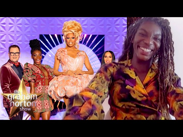 Michaela Coel Still Can't Get Over Being On RuPaul's Drag Race | The Graham Norton Show