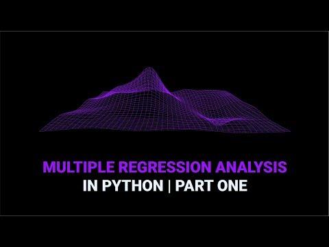 Multiple Regression Analysis In Python | Part 1