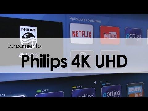 VIDEO: PHILIPS PRESENTA SU NUEVA LÍNEA DE PANTALLAS 4K UHD CONNECTED