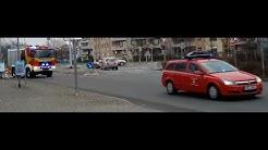 [Sirene]FF GiGu Kdow + FF Gustavsburg HLF20 16.01.2016