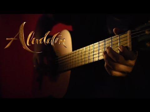 Aladdin - Arabian Nights - Classical Guitar Cover