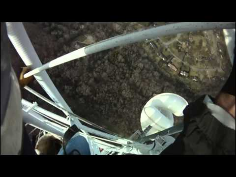 Tower Work in High Winds at 900 Feet
