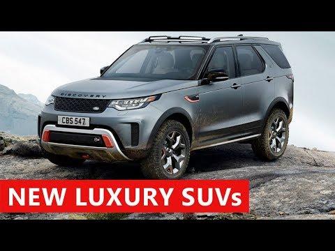 10 New Luxury SUV debut at Frankfurt Motor Show IAA 2017. Best SUV Debuts Coming In 2018