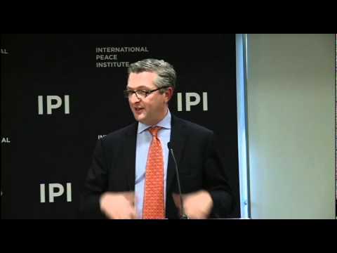 Filippo Grandi, Head of UNRWA at IPI: Palestinian Refugees in the Arab Spring