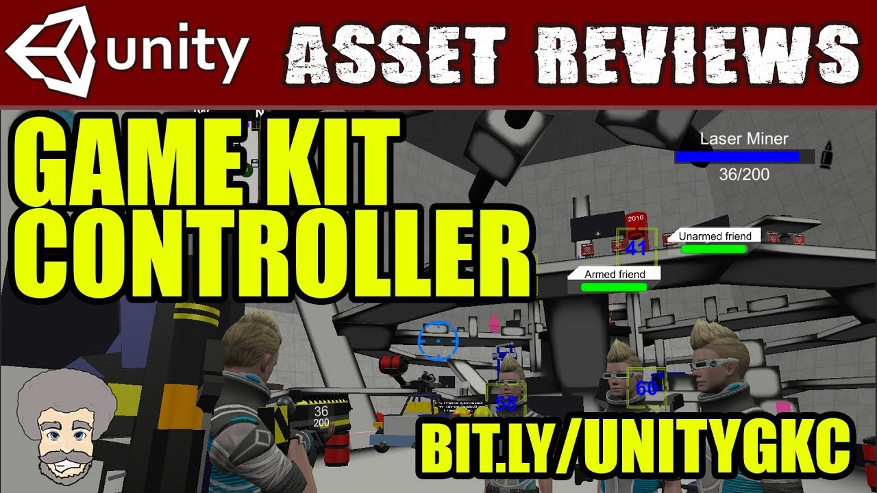 Unity Asset Reviews - Game Kit Controller