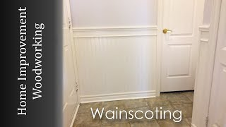 Wainscoting Panel Installation