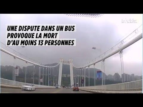 Chine : le bus plonge dans le fleuve après un échange de gifles