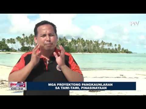 Mga proyektong pangkaunlaran sa Tawi-Tawi, pinasinayaan