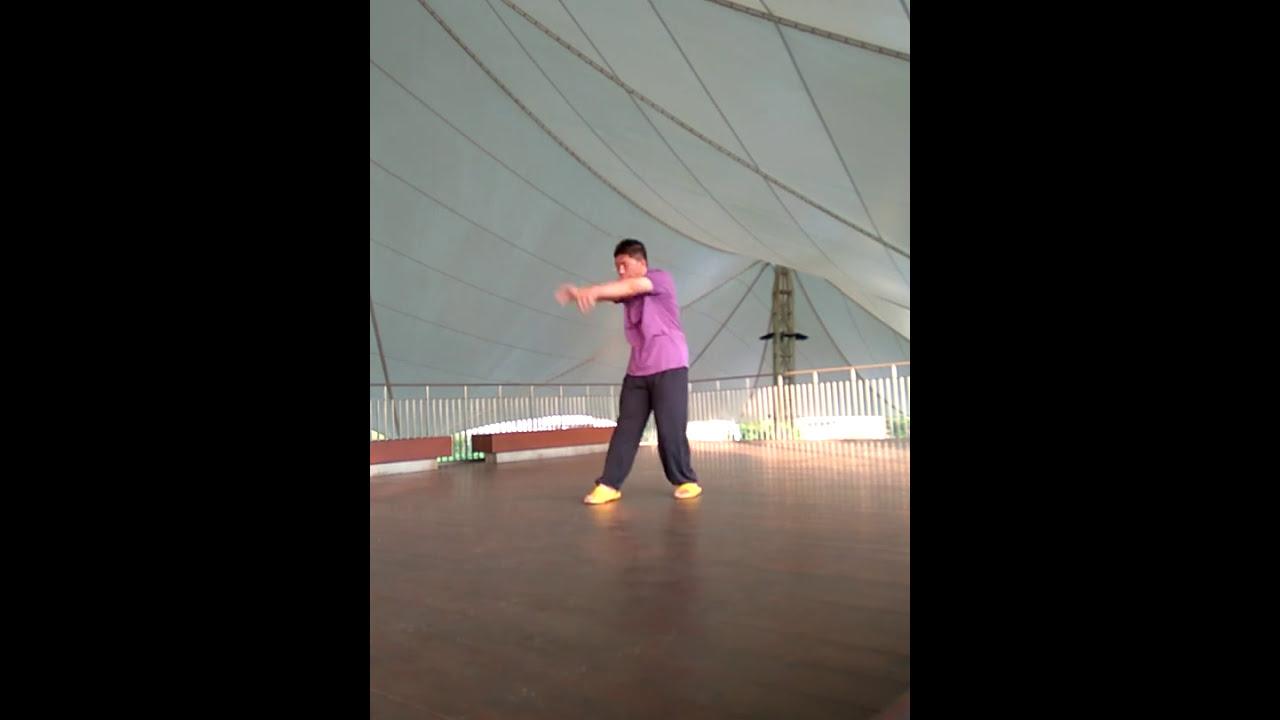 鶴拳(三戰) - YouTube