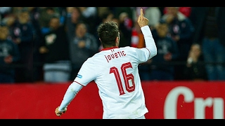 Stevan Jovetic vs Las Palmas  [12/02/2017] [Las Palmas 0:1 Sevilla] HD