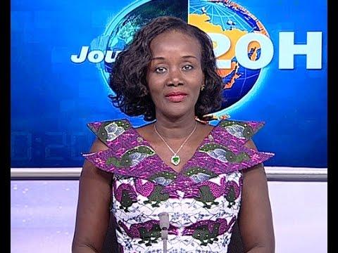 Le 20 Heures de RTI 1 du 13 Avril 2015 avec Habiba Dembélé Sahouet