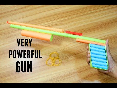 How to make a Paper Gun that Shoots | Easy Tutorials | Easy Paper Shotgun