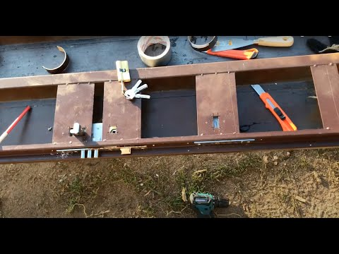 Как разобрать входную металлическую дверь