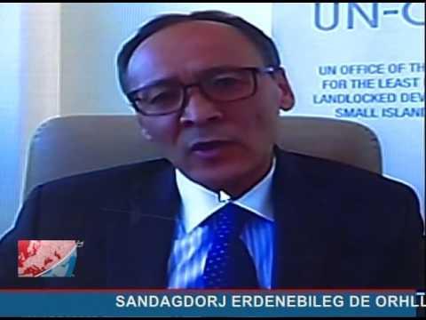 LVNHL interview with Sandagdorj Erdenebileg of UN-OHRLLS