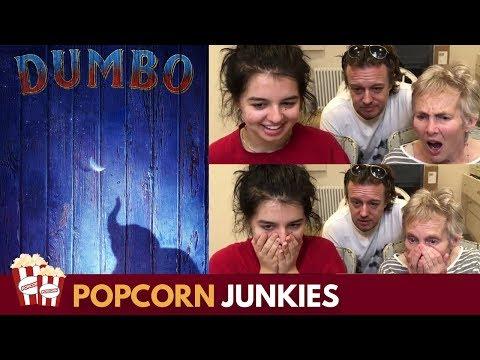 Dumbo Official Trailer - Nadia Sawalha & Family Reaction