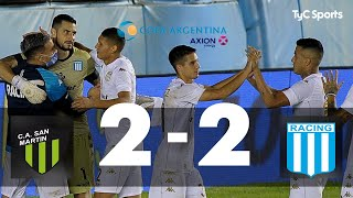 San Martin (SJ) 2 (1)-(4) 2 Racing I Copa Argentina