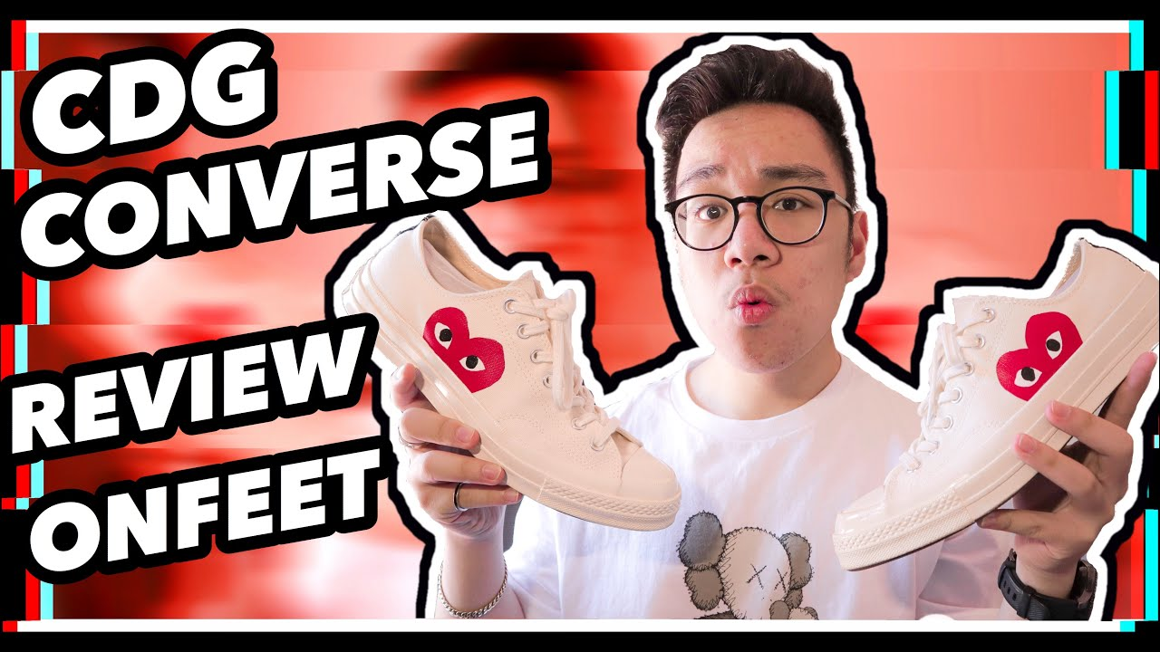 CDG x Converse Low Review And On Feet