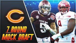 Bears Replace Jordan Howard + Adrian Amos | Chicago Bears 7 Round Mock Draft