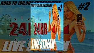 GTA 5 : 24 HOUR LIVE STREAM - GTA 5 OPEN LOBBIES W/ SPECIAL GUEST - PLAYSTATION 4 - part #2