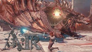 A:IR CBT Level 20 Dungeon - Dragon Boss Battle - Ascent: Infinite Realm Online