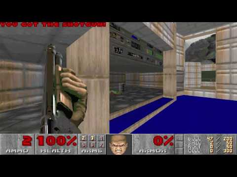 Ultimate Doom - E1M1 UV-Max in 0:27