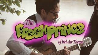 The Fresh Prince of Bel-Air Theme - samuraiguitarist & Jeff Gagne (Blues Cover)