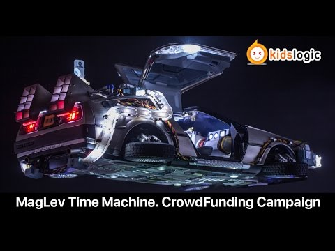 DeLorean Time Machine Collectible Magnetic Levitating Ver, Indiegogo CrowdFunding Campaign