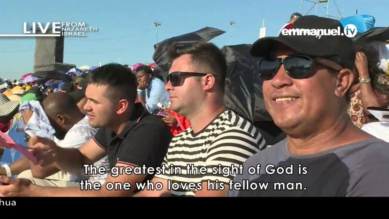 WE ARE KNOWN BY OUR LOVE PART 2: NAZARETH MEETING WITH PROPHET TB JOSHUA  DAY 2