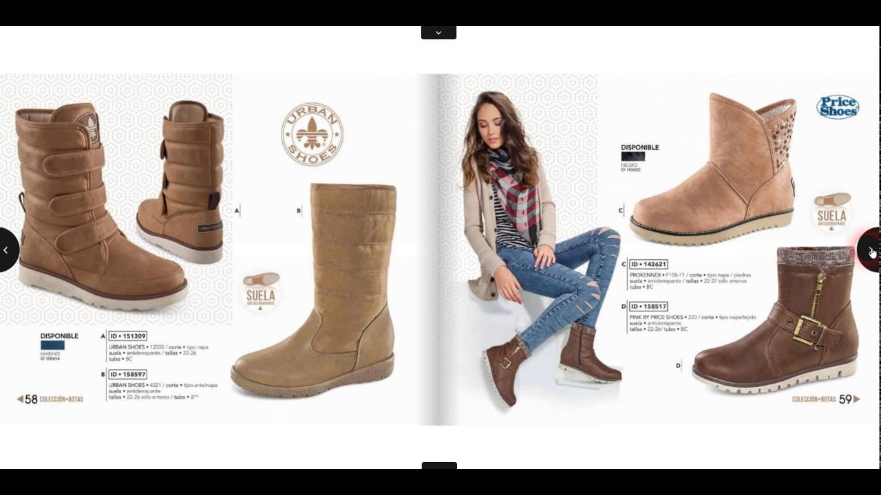 1d8ea76a5 Botas y Botines Price Shoes 2016 y 2017