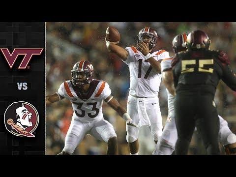 Virginia Tech vs. Florida State Football Highlights (2018)