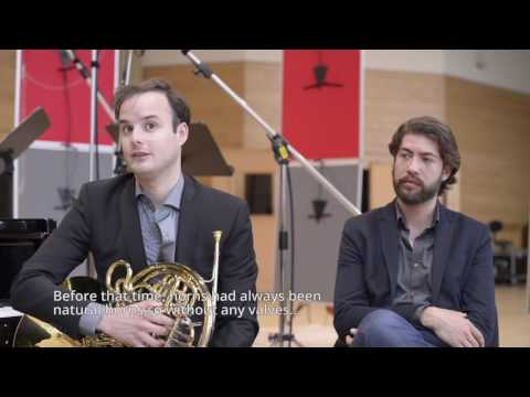 A heartfelt interview with Rob van de Laar and Thomas Beijer about the horn, Brahms and more