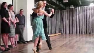 """Bryant et Faye Lopez, """"Tu el cielo y tu"""" (tango)."""