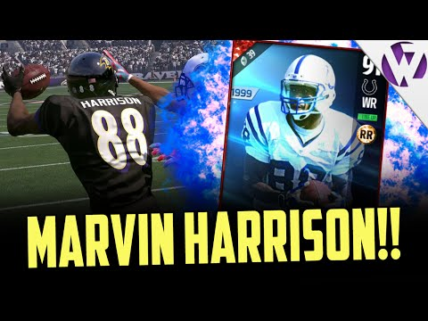MARVIN HARRISON BEST ROUTE RUNNER IN THE GAME? - MADDEN 17 MARVIN HARRISON GAMEPLAY