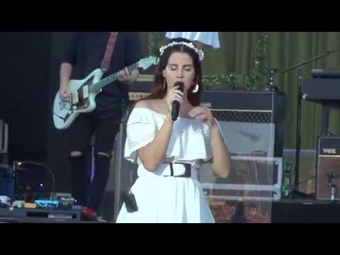 Lana Del Rey - Cruel World (Live at Vieilles charrues 2016) The Best Performance