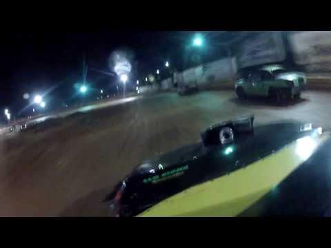 Daniel Edwards Wins, Race Adamson @ Clarksville Motor Speedway 9-7-13