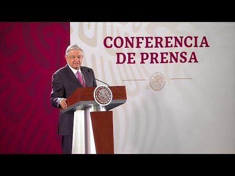 Notario certificará compromiso de no reelección. Conferencia presidente AMLO