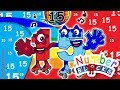 Numberblocks number fifthteen numbers learn to count fun house toys alphablocks new mp3