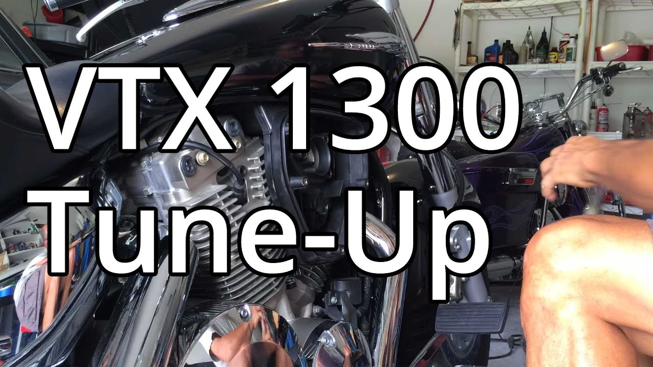 how to honda vtx 1300 tune up spark plugs and air filter [ 1280 x 720 Pixel ]