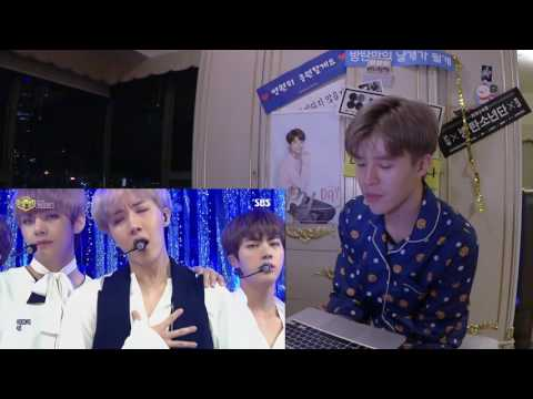 SW reaction ▶방탄소년단 Not Today+봄날Spring Day Inkigayo stage + BTS choreography ver